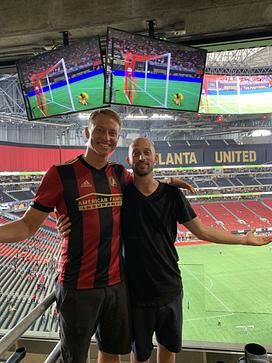 Matt Landau and Andrew McConnell
