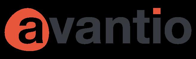 """Avantio's Logo has a red circle around the """"A""""."""