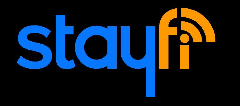 The Fi in StayFi is looks like a Wifi symbol (radio waves).