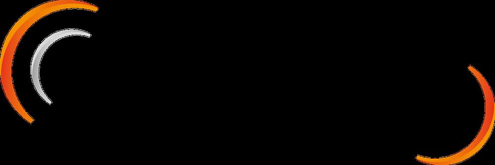 Maxxton's logo has half circle bookends.