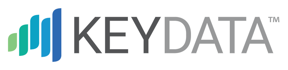 Five colored vertical lines on the left. Keydata is written in ALL CAPS.