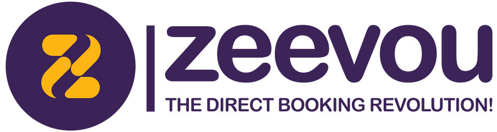 Zeevou's logo has a circle with a Z inside of it on the left.